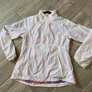 Lucy Activewear White Running Jacket Women's M